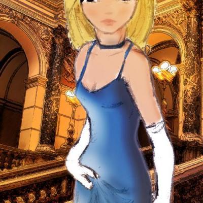 Au bal (version colorisé)