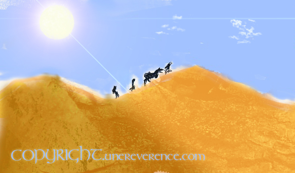 Caravane et désert