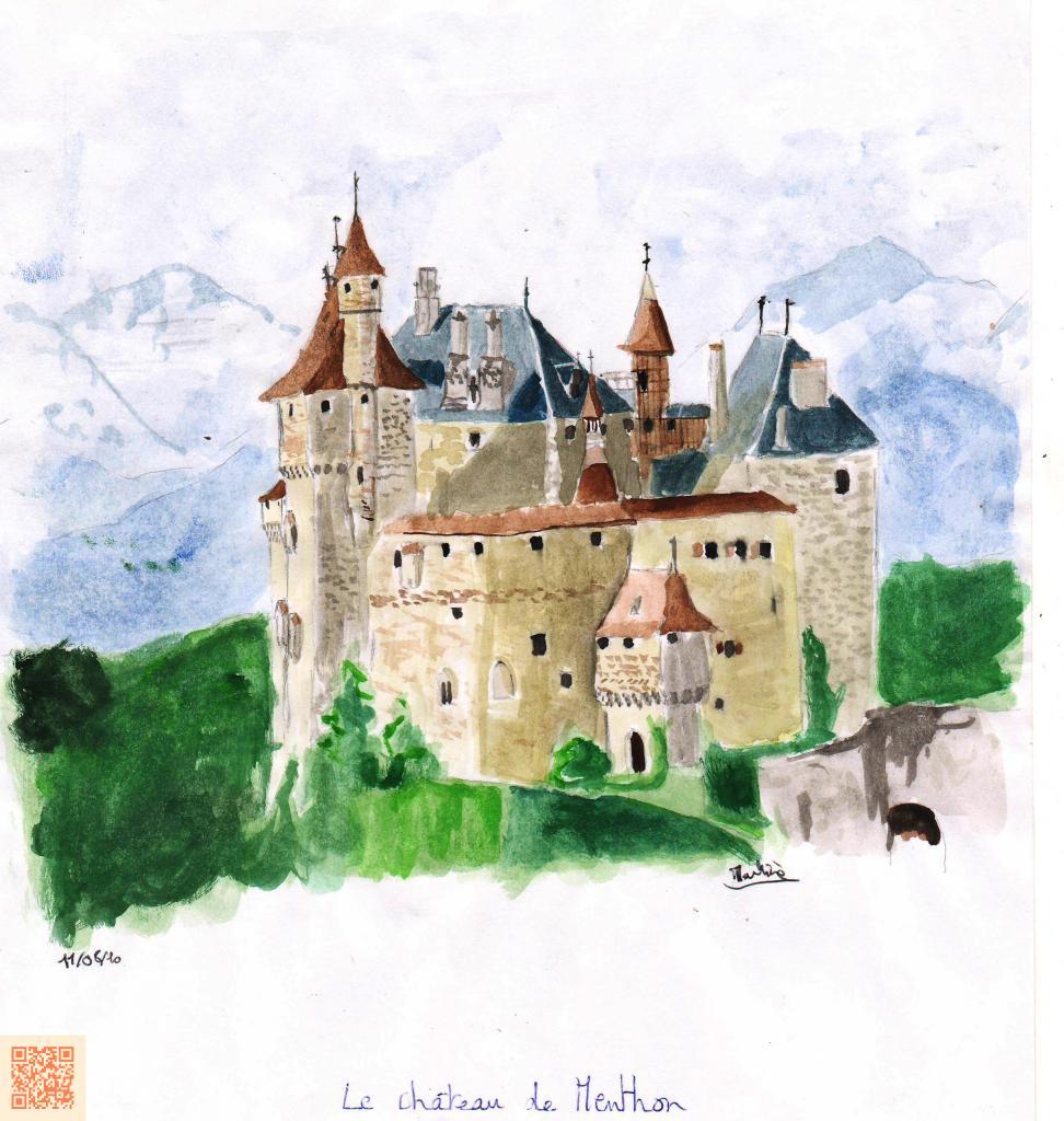 Castle of Menthon (France)