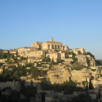 Main view on Gordes