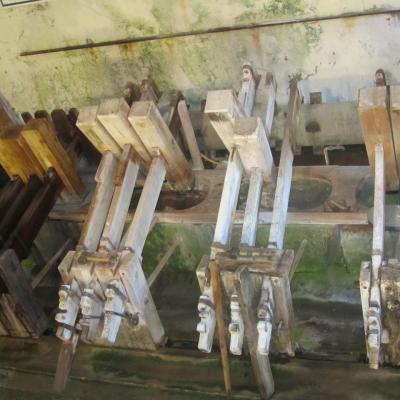 Les maillets du moulin