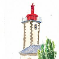 Sainte-Marine lighthouse