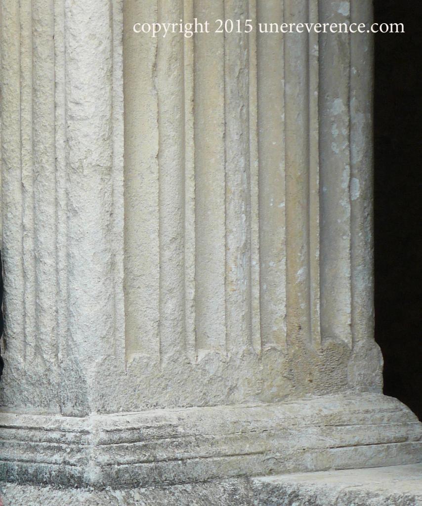 fluted pillar
