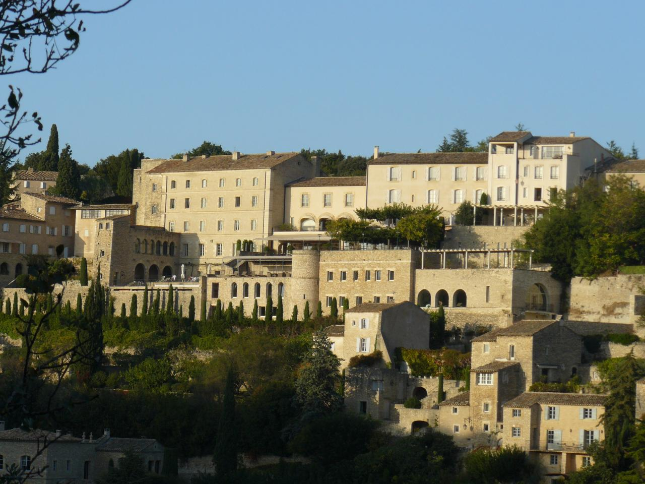 Gordes mountainside