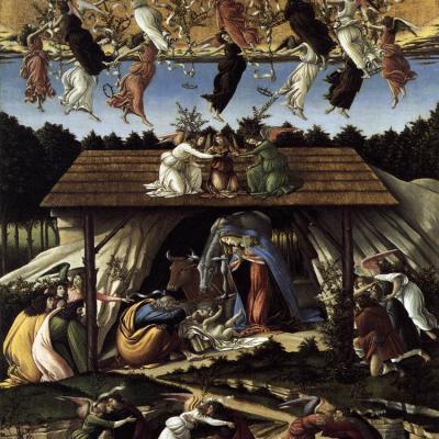 Botticelli, Nativité Mystique