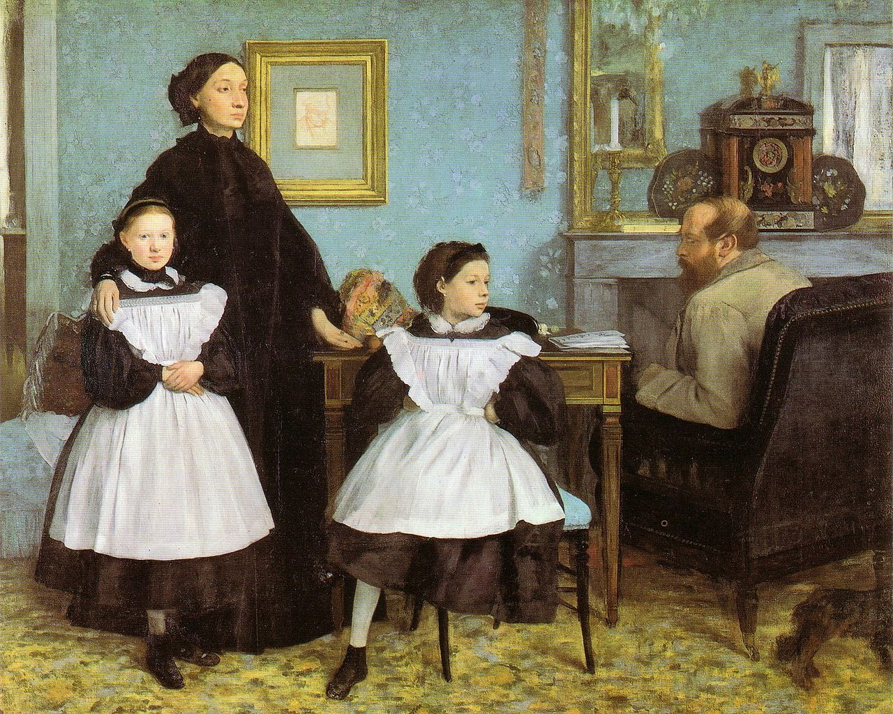 Edgar degas, La Famille Bellelli, 1867
