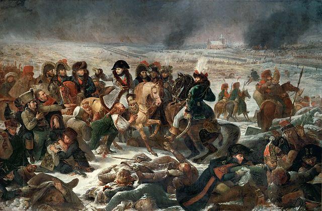 Gros, Napoléon sur le champ de bataille d'Eylau, 1808, Louvre