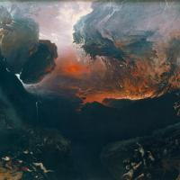 John Martin (1789-1854), Le Grand Jour de Sa Colère (The Great Day of His Wrath), 1851-53 , huile sur toile, 197 x 303 cm, Tate Britain, Londres