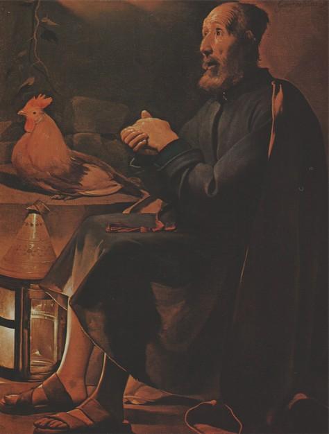 Georges de La Tour, Les larmes de saint Pierre, 1645, Cleveland