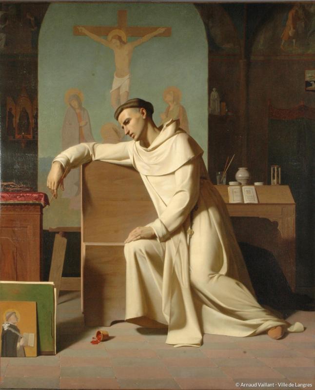 Michel Dumas, Fra Giovanni Angelico da Fiesole, 1845, Langres