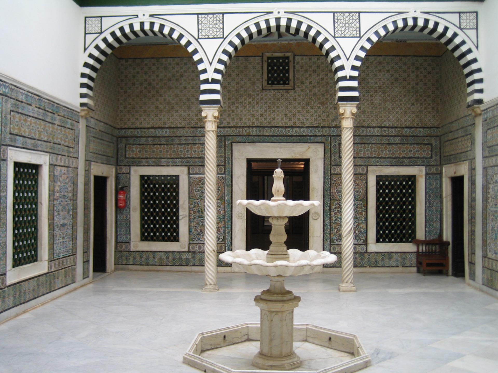 Visite Virtuelle du musée du Bardo, Tunisie